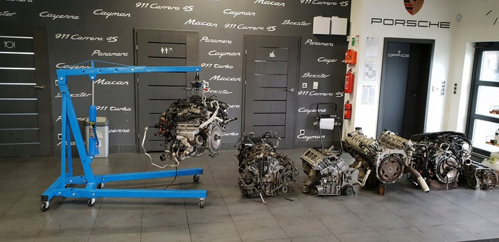 Капитальный ремонт двигателя Porsche